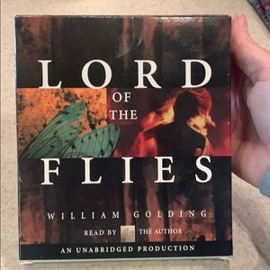 Lord of the Flies book on 6 discs.